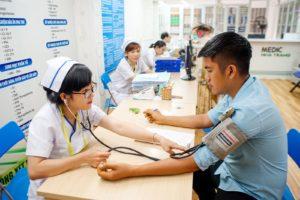 Phòng khám ĐA KHOA MEDIC NHA TRANG khám sức khỏe cho khách hàng